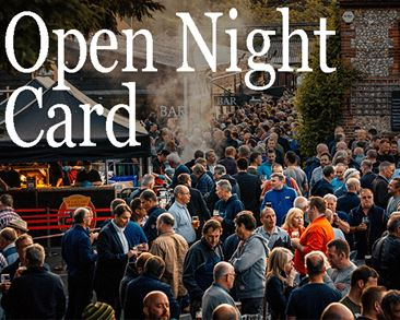 Open Night Card