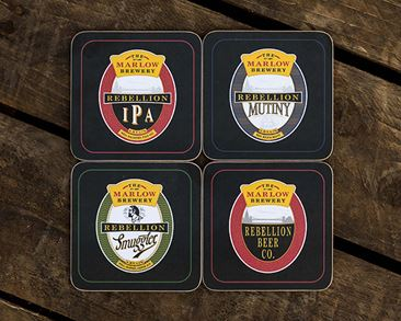 Coasters Core Set of 4