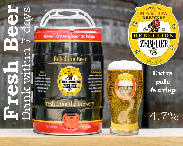 Zebedee 5L FRESH Barrel