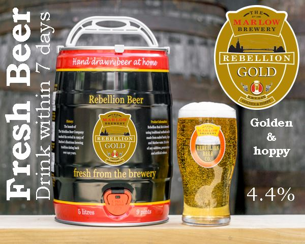 Gold 5L FRESH Barrel