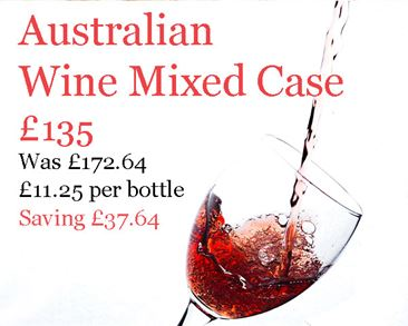 Australian Wine Mixed Case