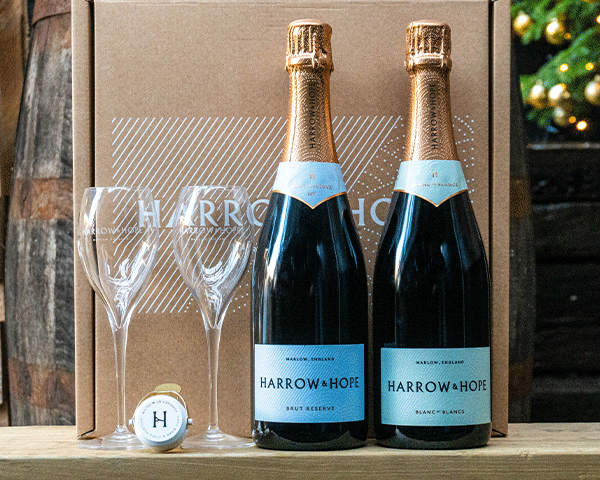 Harrow and Hope Gift Set: Brut Reserve & Blanc de Blanc
