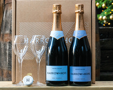 Harrow and Hope Gift Set: Brut Reserve & Blanc de Noirs