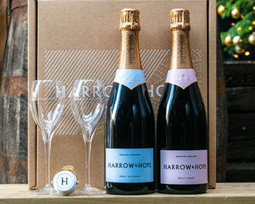 Harrow and Hope Gift Set: Brut Reserve, Brut Rose