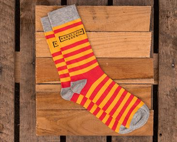 Rebellion Socks Red/Yellow